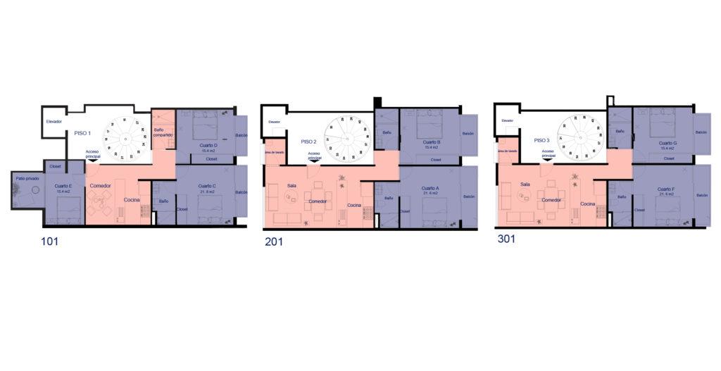 Plano Casa Pushkin