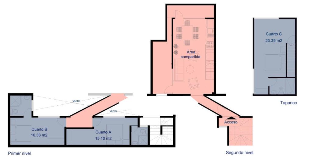 Plano Casa Velarde 2