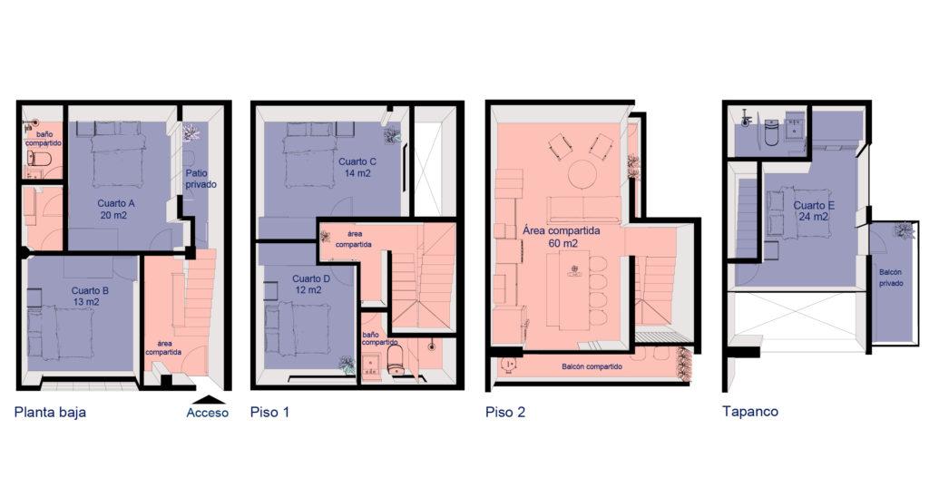 Plano Casa Velarde 6
