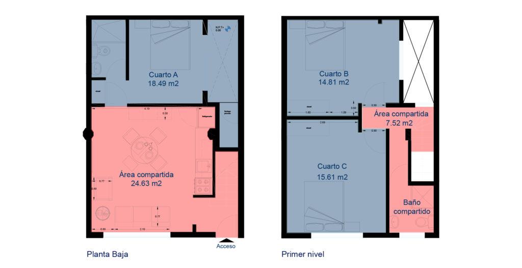 Plano Casa Velarde 8