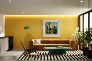 Render Casa Polanco Sala Compartida