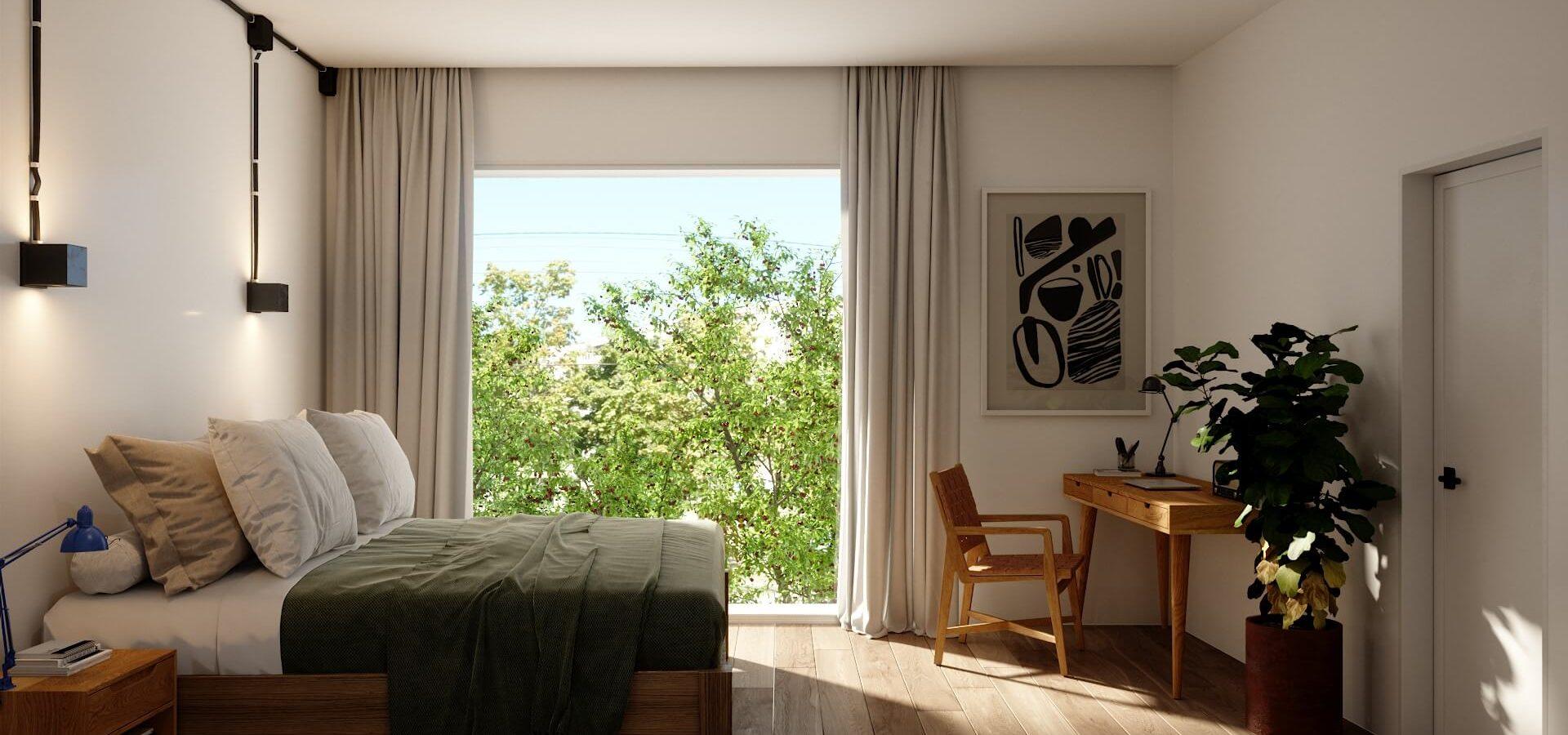 Render Renta Cuarto Casa Newton Polanco