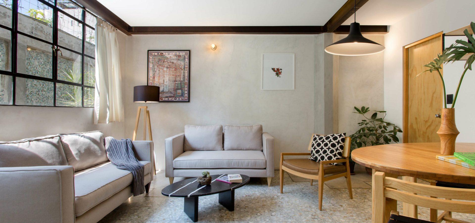 Renta Cuarto Casa Roma Norte Coworking Velarde